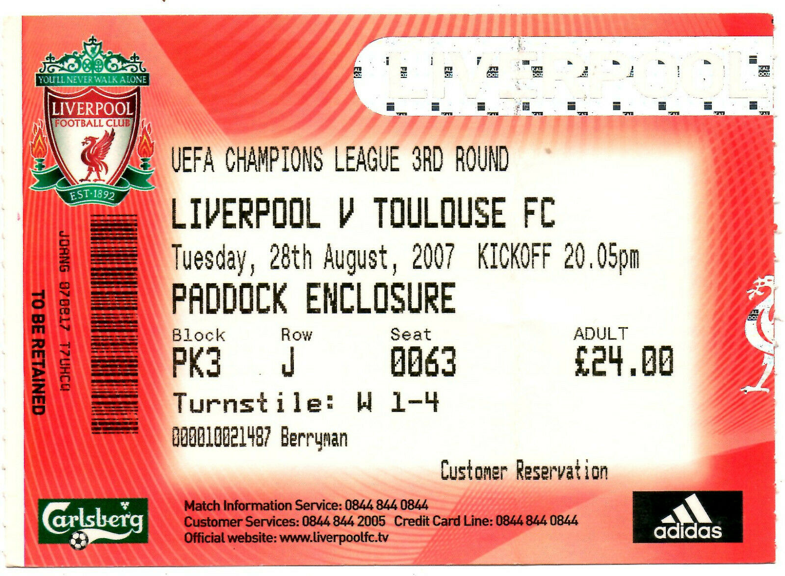 how to get liverpool football tickets